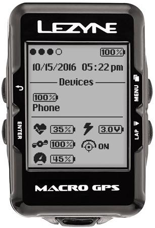LEZYNE MACRO GPS - 0