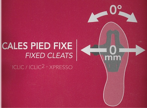 TIME XPRESSO-ICLIC FIXED CLEATS - 1